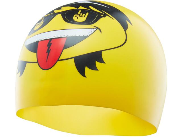TYR Rocker Swim Cap, yellow